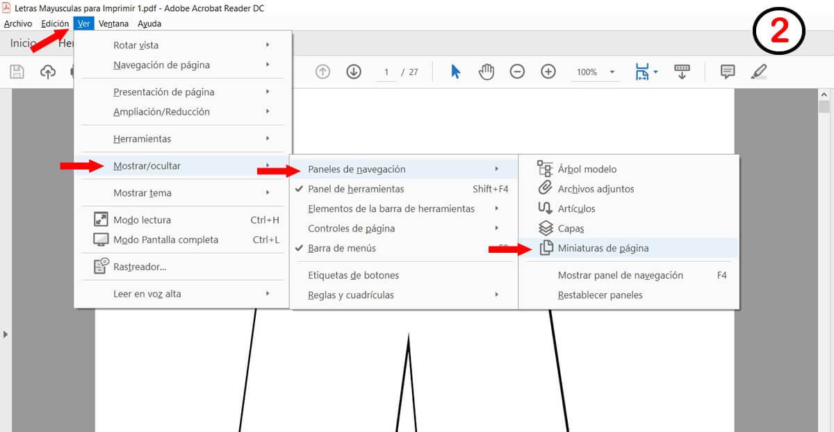 Cómo imprimir páginas seleccionadas en pdf