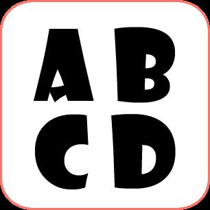 Letras Para Carteles 4 Moldes Diferentes