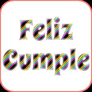 Letras Para Imprimir De Feliz Cumpleaños